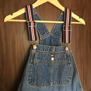 Vintage&NWT Tommy Hilfiger overall shorts